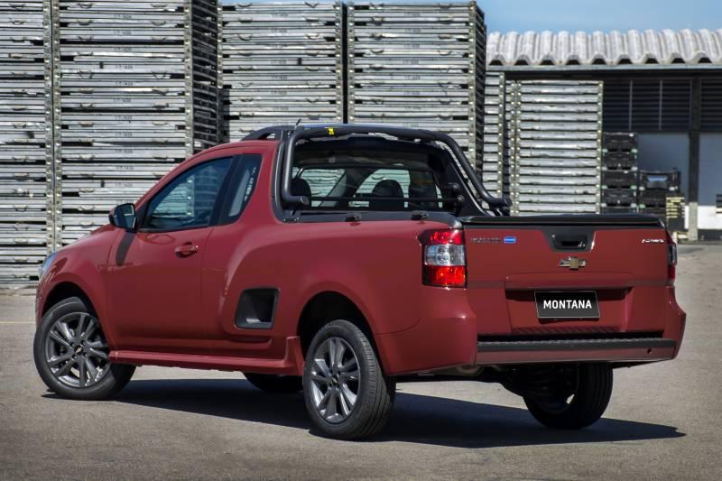 Chevrolet Montana 2018 não tem cabine dupla, mas continua com ótimo preço