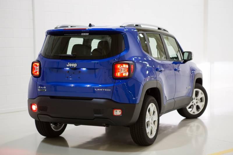Jeep Renegade 2018 diesel chega com preço competitivo