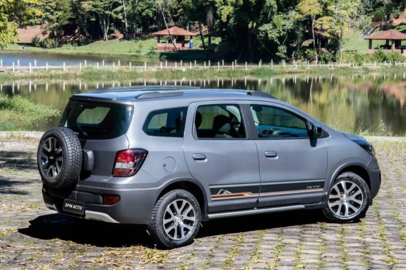 Nova Chevrolet Spin Activ 2018 traz 7 lugares com muito conforto