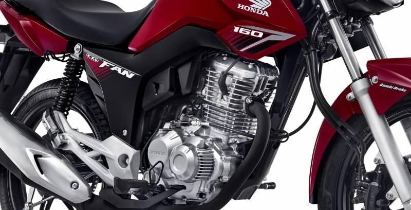 Nova Honda CG Fan 160 2018 é uma moto com bom preço