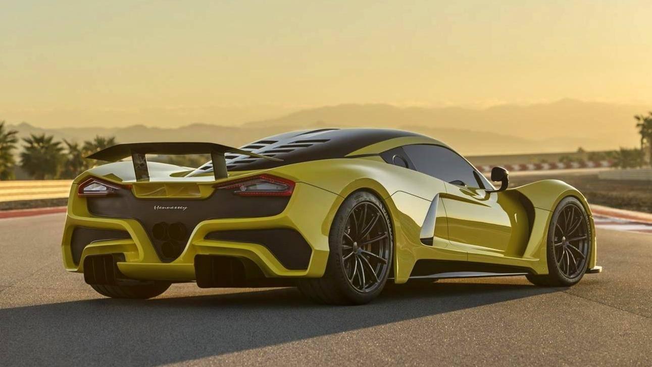 Hennessey Venom F5 deve ter velocidade máxima de recorde