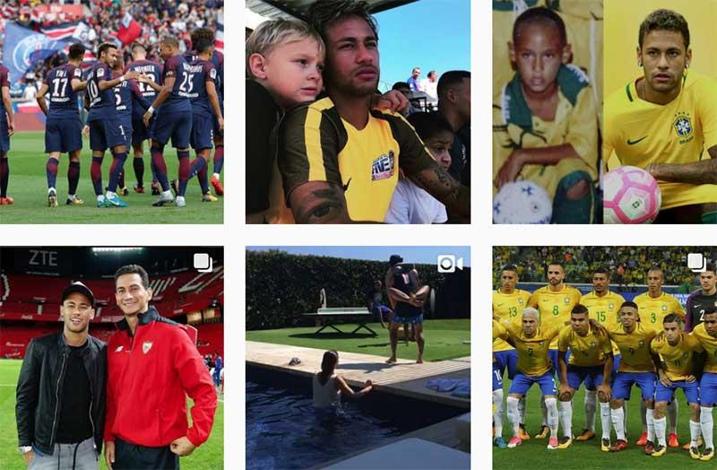 Instagram de Neymar Jr prova que mundo das celebridades é online