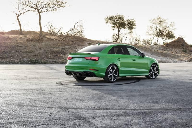 Novo Audi RS3 sedan 2018 surpreende com ficha técnica incrível