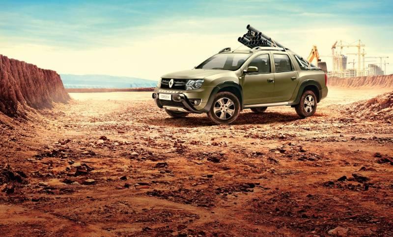 Renault Duster Oroch 2018 tem opção com câmbio automático