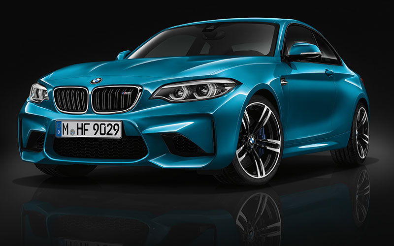 Esportividade é a cara do novo BMW M2 Coupé 2018