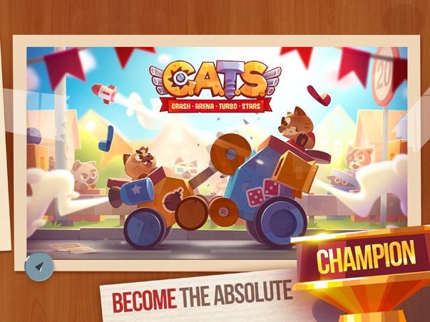Como baixar o jogo CATS: Crash Arena Turbo Stars, definições do app, como jogar e dicas