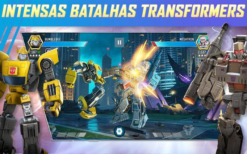 Download Transformers: Lutadores, o game que você precisa baixar agora, acompanhe dicas para Android e iOS