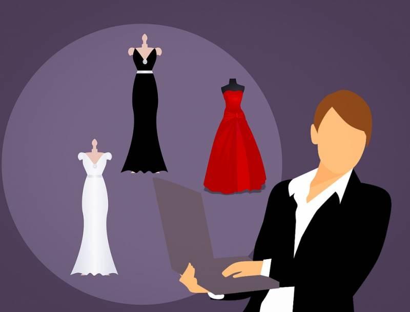 Não se atrapalhe com o vestido de festa longo