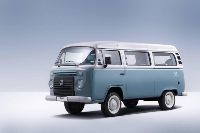 VW Kombi usada segue com a história nas ruas