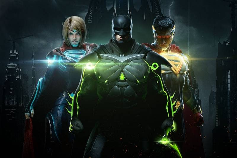 Injustice 2 um jogo com os seus personagens de infância, sensacional em várias plataformas