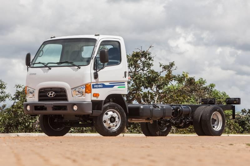 Hyundai HD 80 é um caminhão leve com bom preço