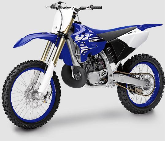 Yamaha YZ 250 a versão de entrada da linha campeã de competições