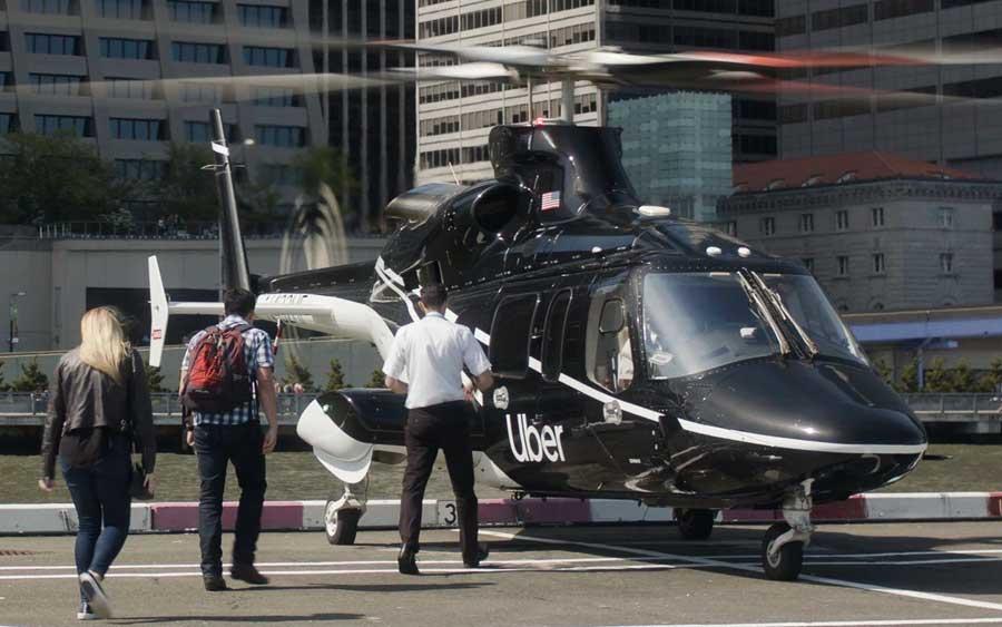 Agora você pode pedir um Uber de helicóptero, pelo menos em NY