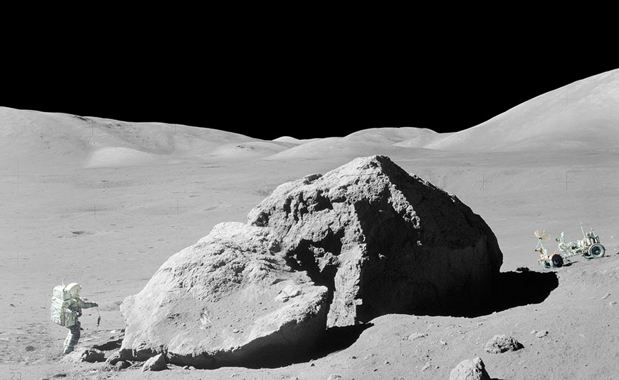 Apollo 17 (foto: NASA/Divulgação)