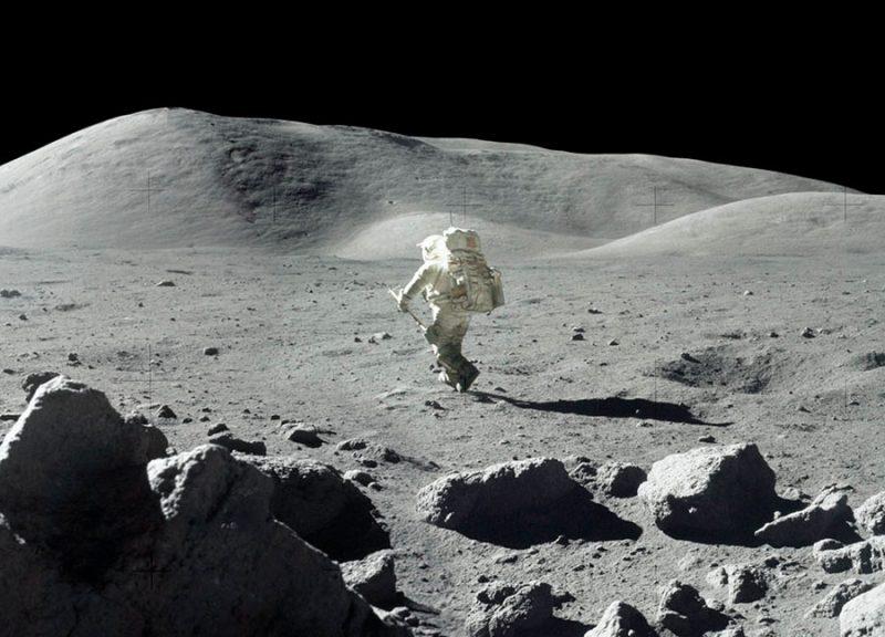 Estas fotos inéditas da Nasa provam que o homem pisou da Lua