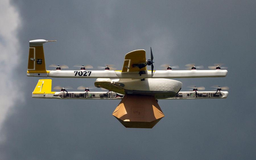 Alphabet revela App para fornecer controle de tráfego aéreo para drones