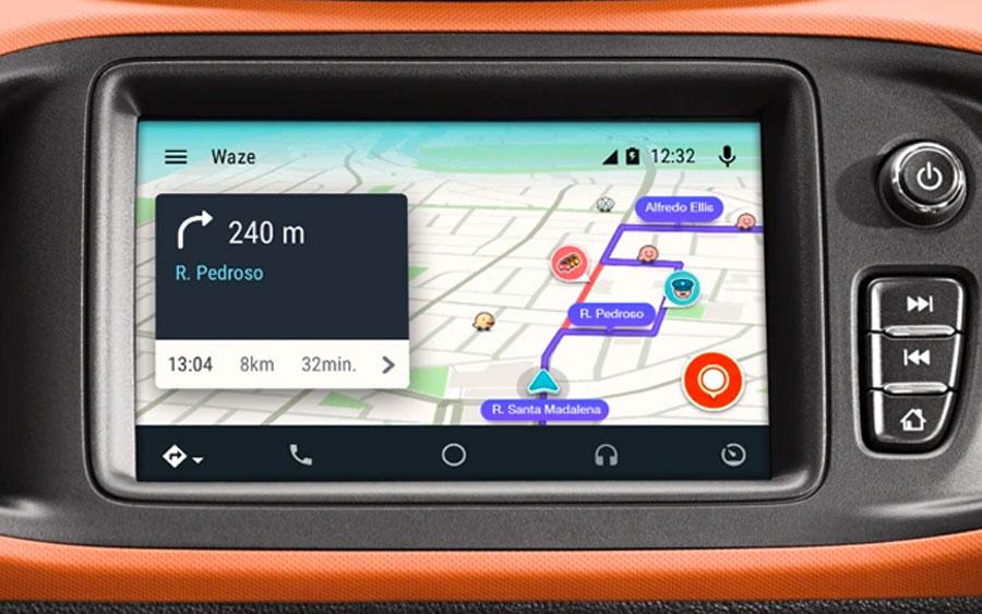 Com o Waze para Android Auto você tem seu GPS no carro