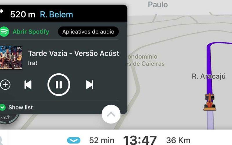 Junte o Waze com o Spotify e tenha uma viagem musical