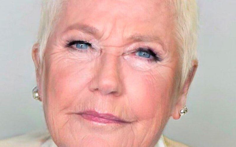 Aplicativo de envelhecimento deixa Xuxa com rugas