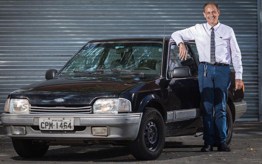 O professor que rodou mais de 1 milhão de Km com seu Ford Verona