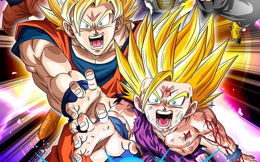 Dragon Ball Z Dokkan Battle no seu celular