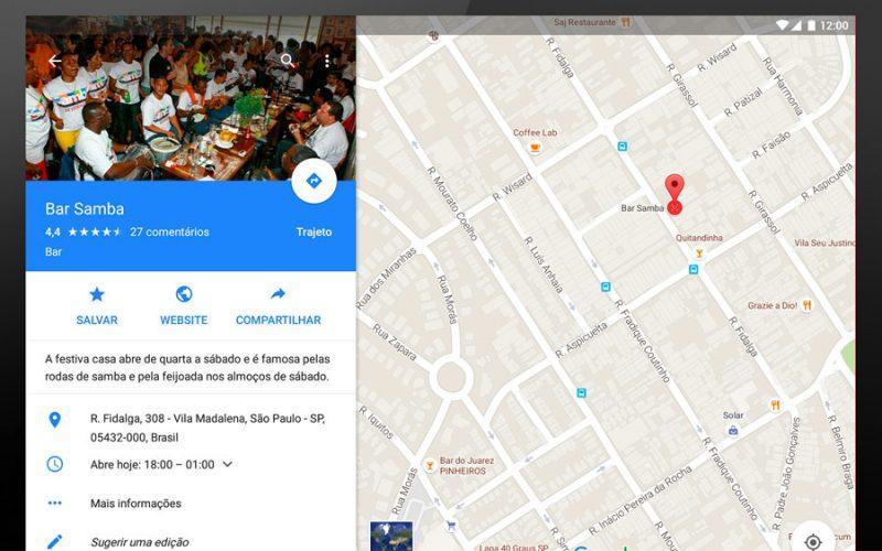 É fácil entrar e usar o app Google meu negócio