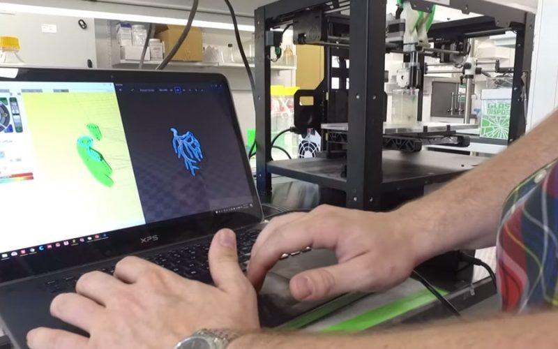Já é possível criar válvula de coração com impressão 3D