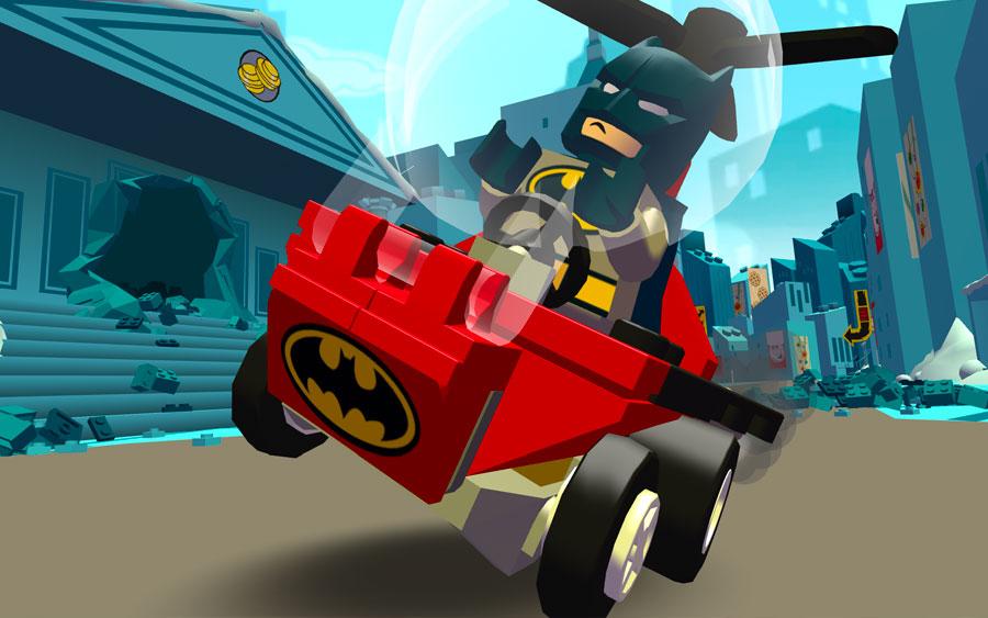 Diversão no Kart com Lego DC Mighty Micros
