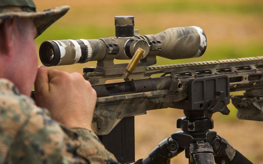 A tecnologia do sniper