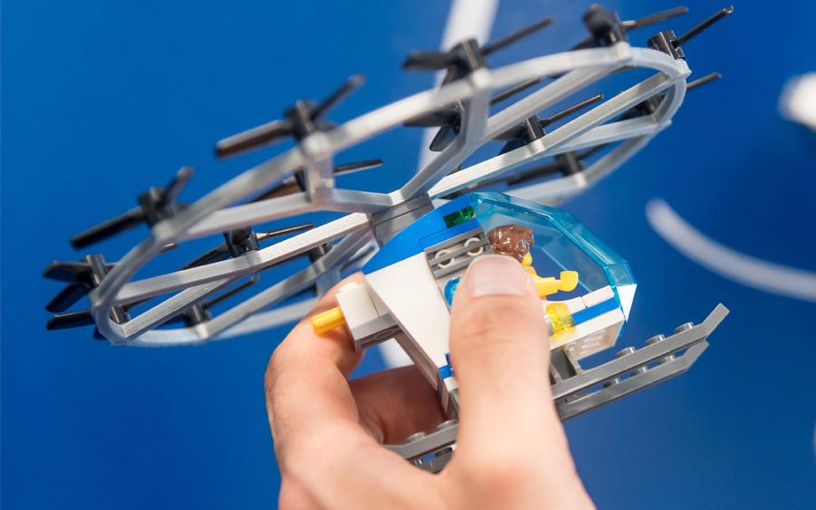 2030 deve ser marcado com a popularização dos táxis voadores