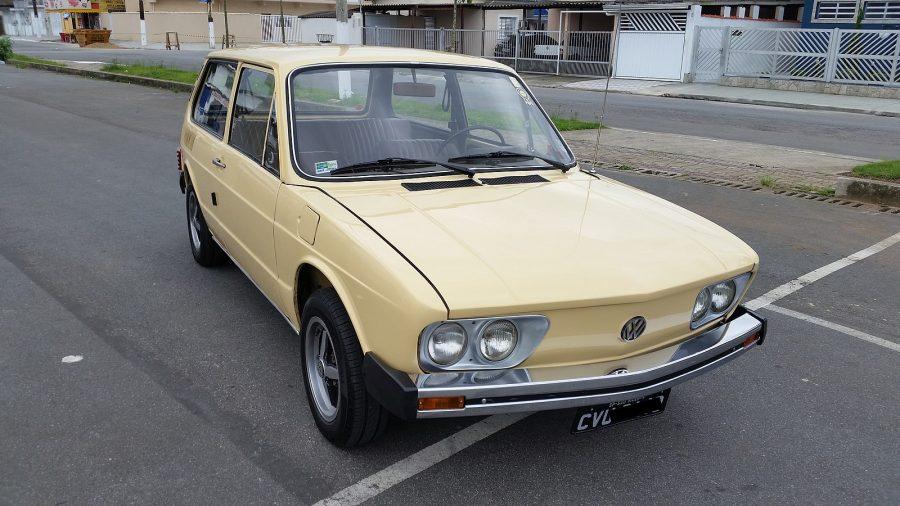 Veículo com Placa Preta, que indica que é veículo de coleção e tem preservada suas características Originais (B.corrales86 / Wikimedia)