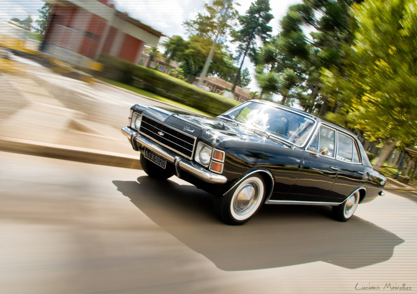 Chevrolet Opala Sedã 1975 (foto: Luciano Meirelles / Flickr)