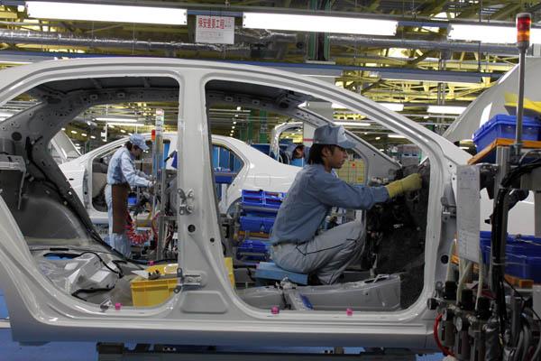 Fábrica da Toyota no Japão (foto: Bertel Schmitt / wikimedia)
