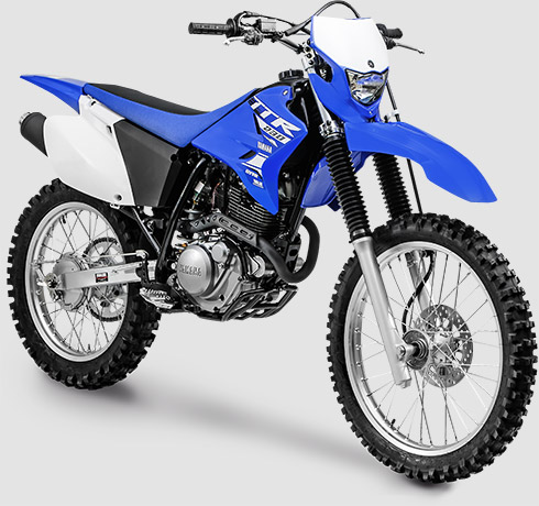Yamaha TT-R 230 uma ótima opção para trilha