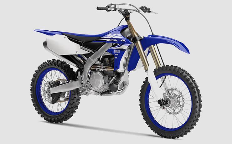 Yamaha YZ 450F excelente opção para competições offroad