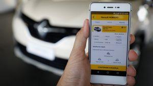 Lançamento do novo projeto app CAR SHARING pelo Renault