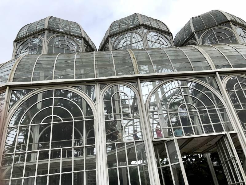 Jardim Botânico de Curitiba, lindo e bem cuidado, lugar de fotos e lembranças