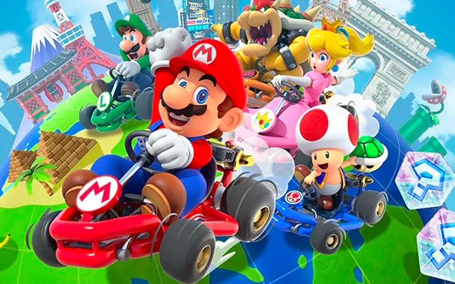 Mario Kart Tour vai animar seu celular