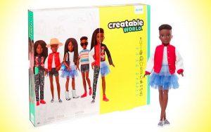 Conheça a boneca neutra em termos de gênero da Mattel
