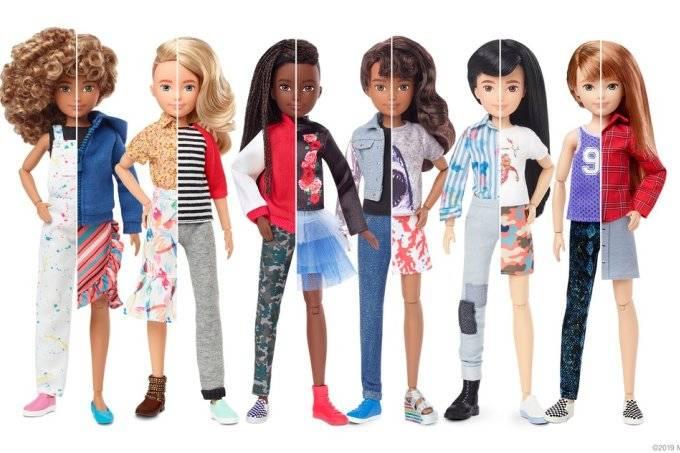Boneco sem gênero