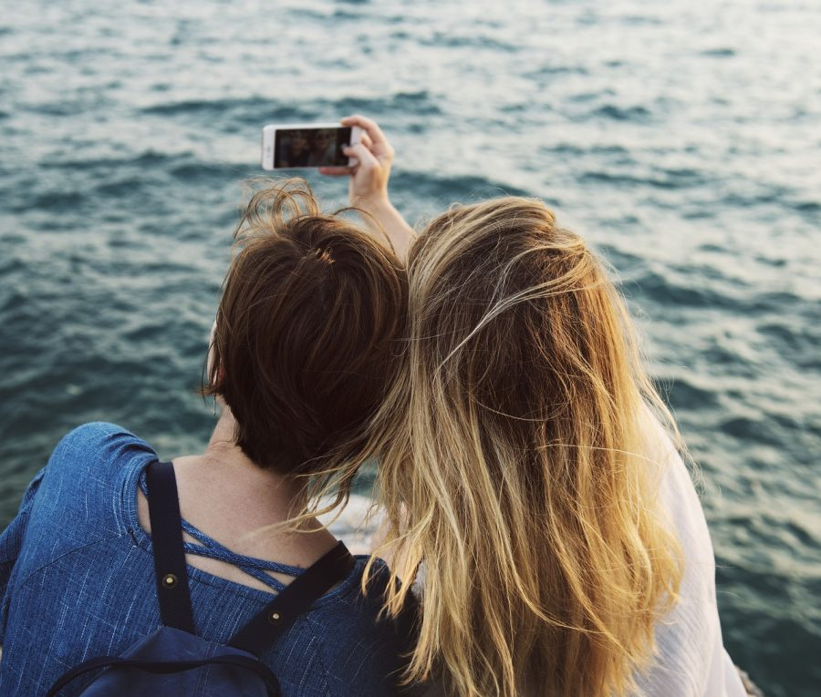 O momento da selfie deve ser especial