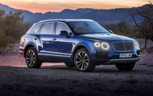 Bentley Bentayga é um super SUV