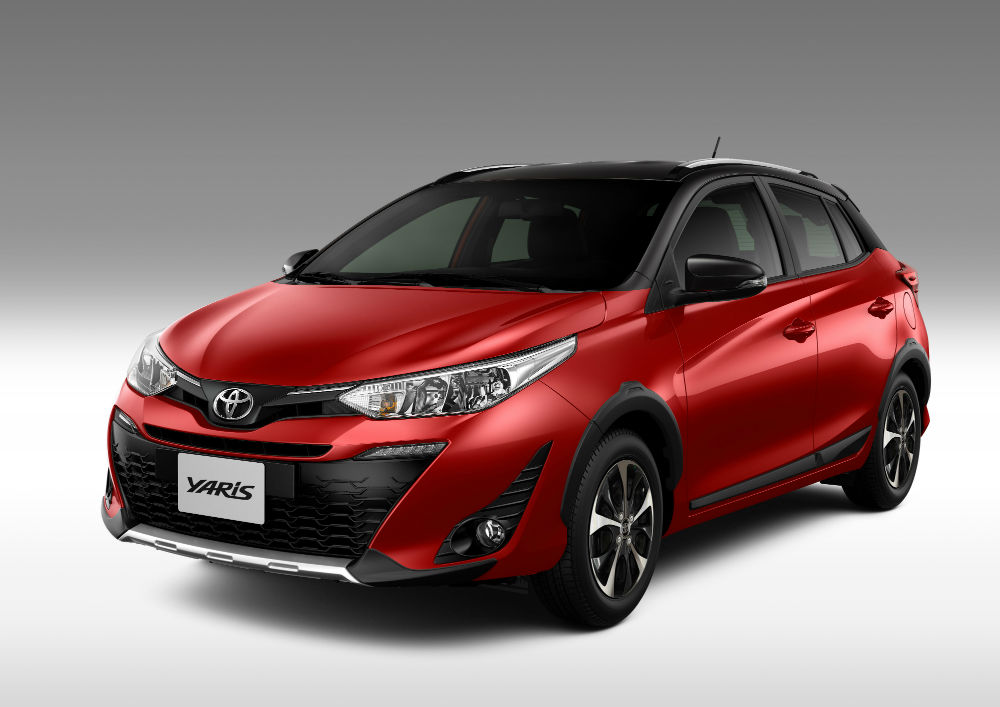 Toyota Yaris 2020 - Versão X-Way chega com novas opções de cores Dual Tone