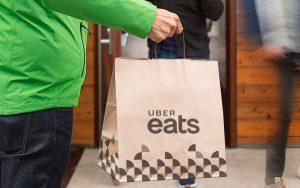 Uber EATS aceita entregas de carro, bicicleta e moto