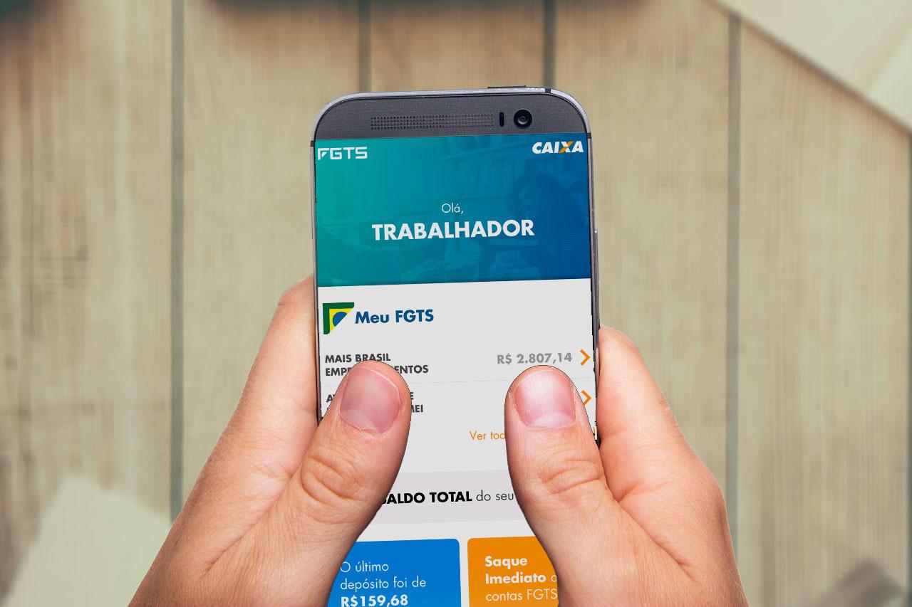 Como consultar o saldo FGTS pelo aplicativo da Caixa
