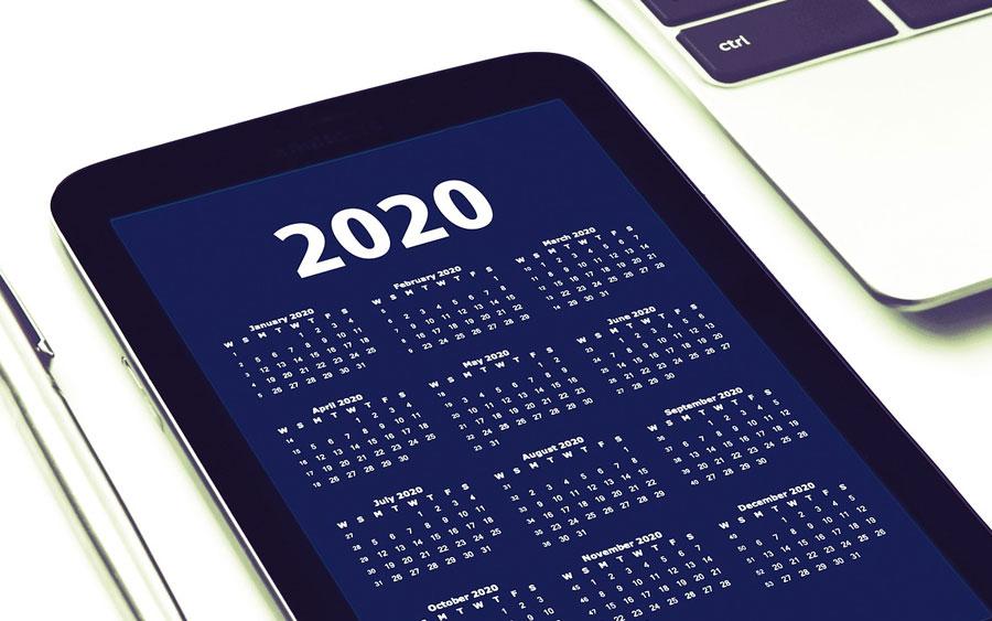 Feriados 2020: confira as datas no calendário