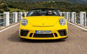 Conheça os detalhes do Porsche 911 Speedster
