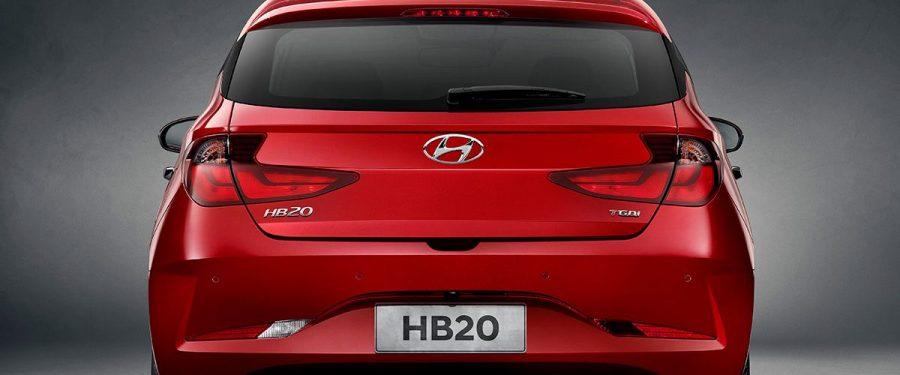 HB20 2020 traseira