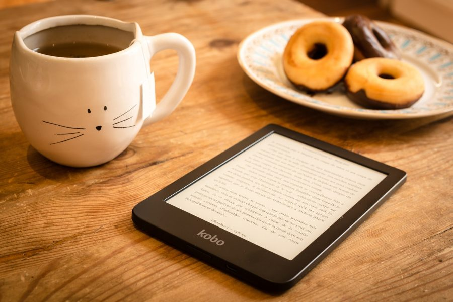 Ebooks permitem que você leia a hora que quiser