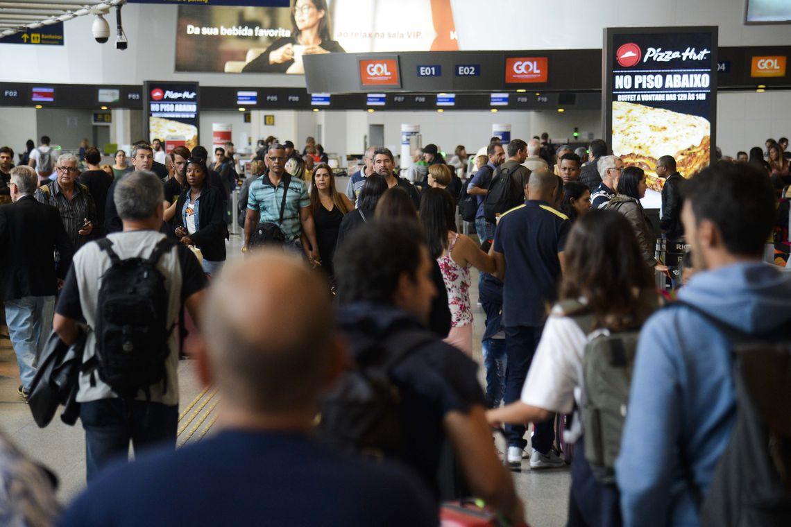 Governo vai dobrar limite de compras em free shops (foto: Tomaz Silva/Agência Brasil)